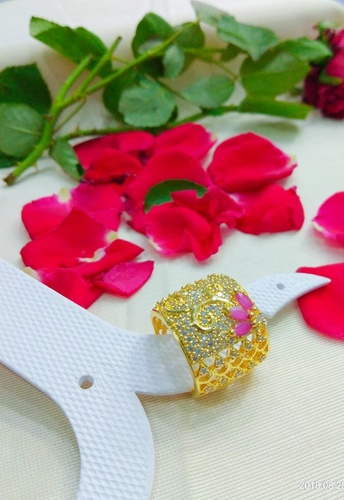 Golden Imitation Ring