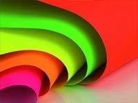Fluorescent pigments for paper coating