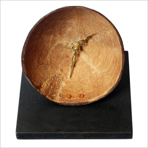 Coconut Shell Clock