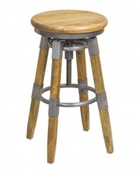 Bar Stool with Adjustable Height