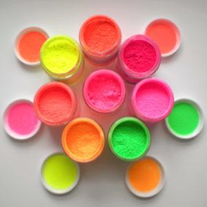 Fluorescent Color Pigments