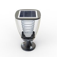 100 Lumens Fully Automatic LED Solar Garden Post Lights