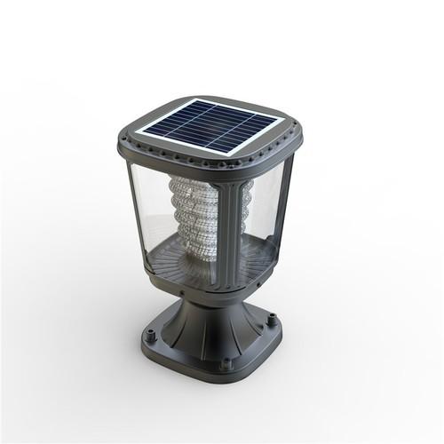 100 Lumens Fully Automatic LED Solar Garden Post Lights