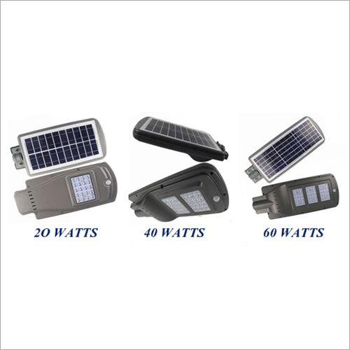 2000-6000 Lumens Mini Series LED Solar Street Light