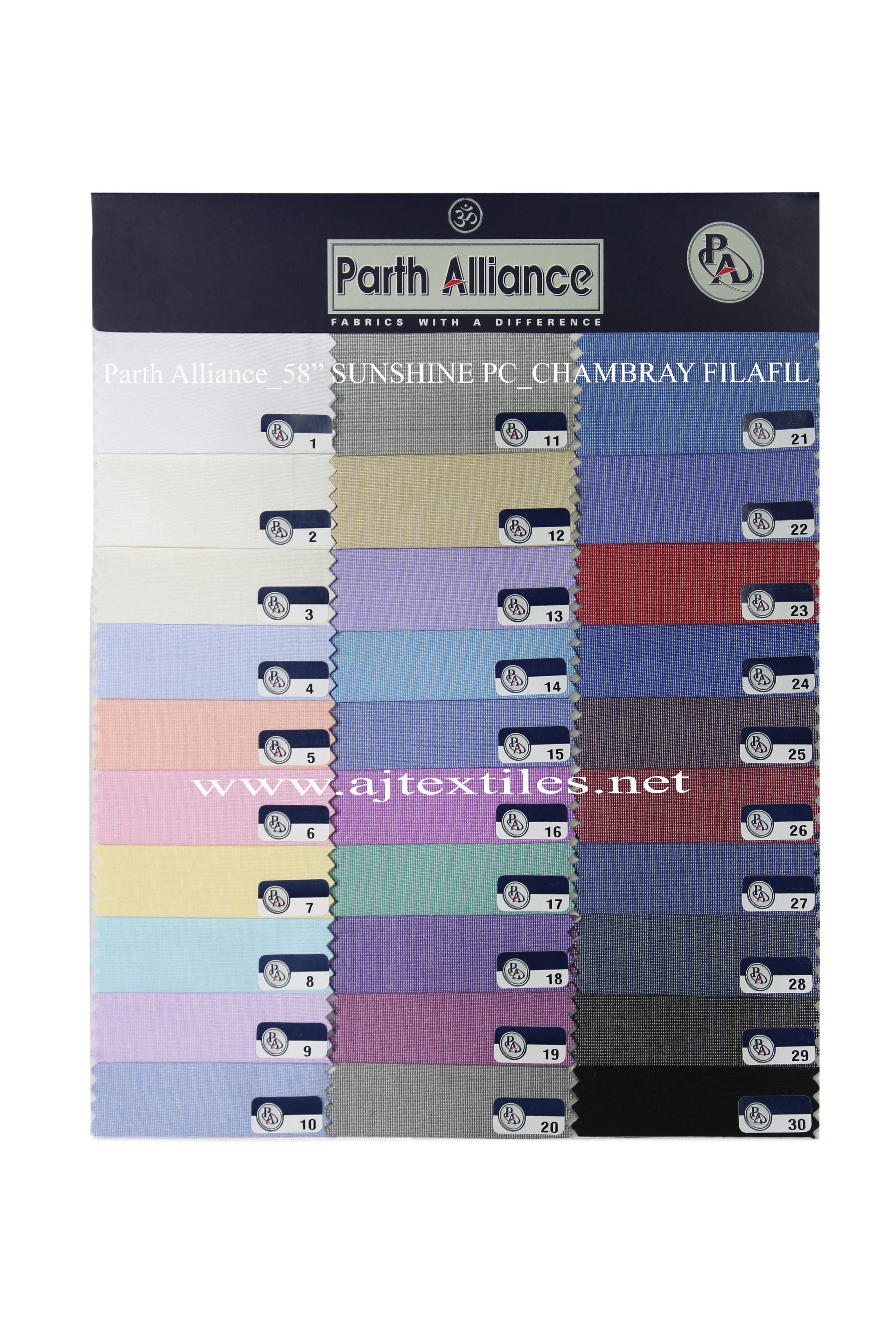 Dark Filafil Shirting Fabric