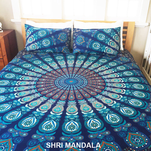 Mandala Bedsheet Pillow Covers