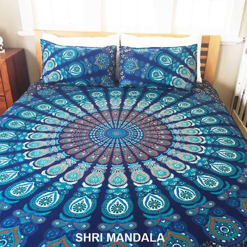 Mandala Bedsheet Pillow Covers