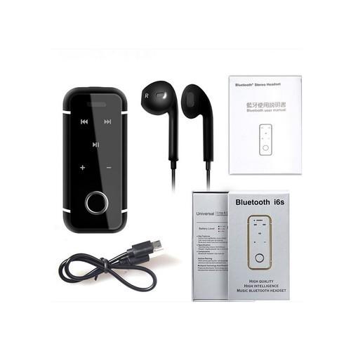 Black i6s Bluetooth Headset