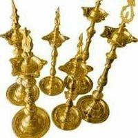Kuthu Vilaku Brass Mandir Jyot