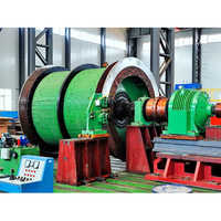 Single Rope Winding Mining Hoist