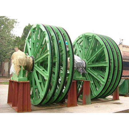 Cast Heat Treatment Mine Winder Wheel