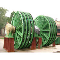 Cast Heat Treatment Mine Winder Wheel