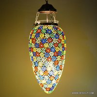 LONG SIZE GLASS WALL MOSAIC  HANGING
