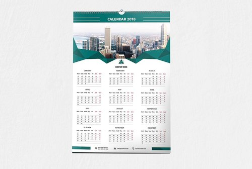 Customized Wall Calendar