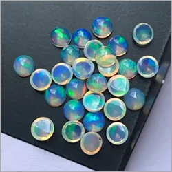 Natural Ethiopian Welo Opal Round Cabochon