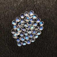 Rainbow Moonstone Faceted Round Gemstone