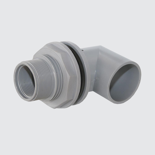 Male Female Tank Connector with Elbow