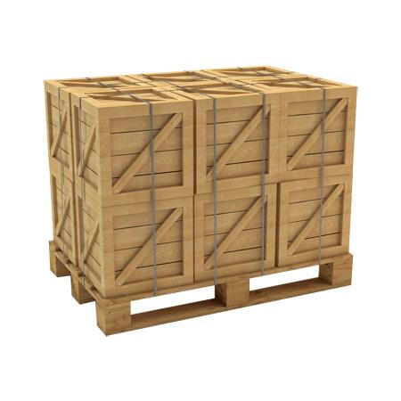 Hardwood Shipping Crate
