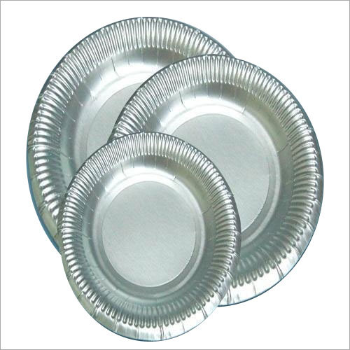 Silver Disposable Plates