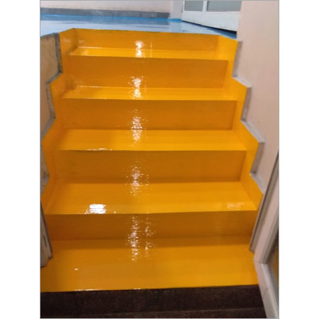 Stairs Epoxy Work