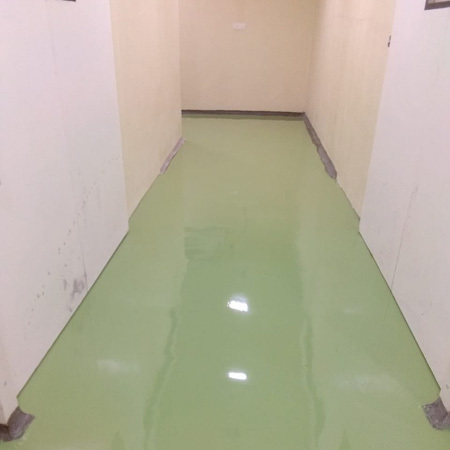 Home Epoxy Flooring Work