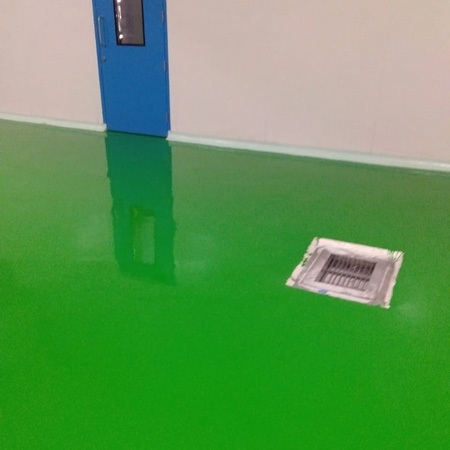 Epoxy Painting Work