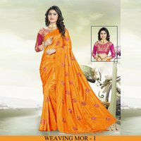 Party Wear Silk Saree