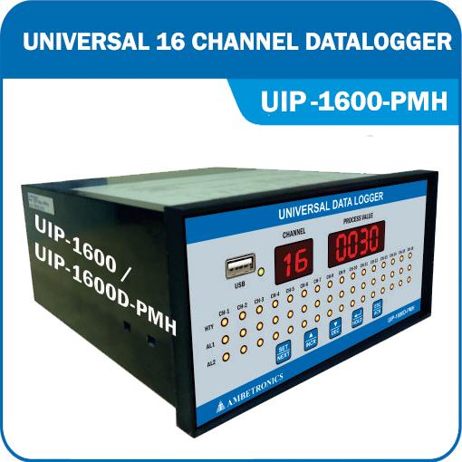 Universal Input Data Logger & SCANNER-16 Channel Weatherproof