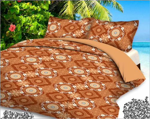 Printeed Double Bed Sheet