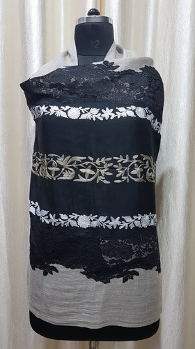 Fine Wool 4 Side Lace