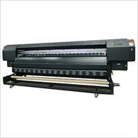 Black Type A Solvent Printer