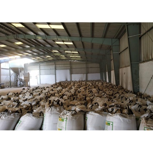 Packed Fly Ash Powder