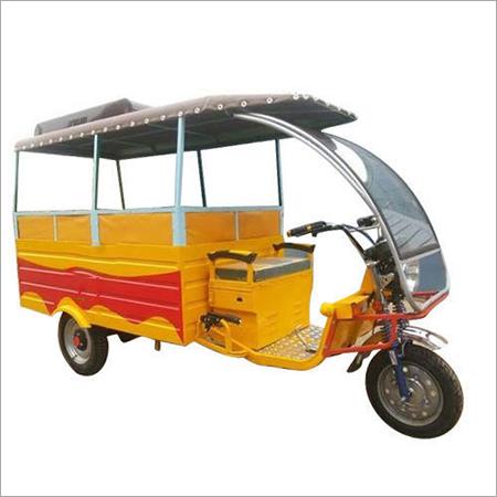 High Power Battery E-Rickshaw