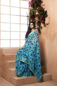 Munga printed saree