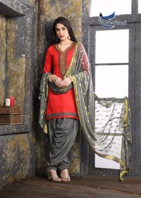 Fancy Designer Patiyala Suits