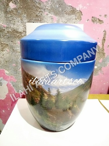 Hand Painted Cremation Urns