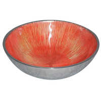 Aluminium Round Serving Bowl