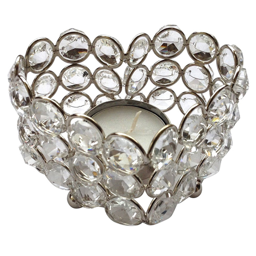 Heart Shape Tea Light Holder