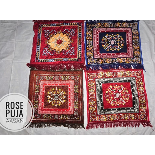 Decorative Puja Mats