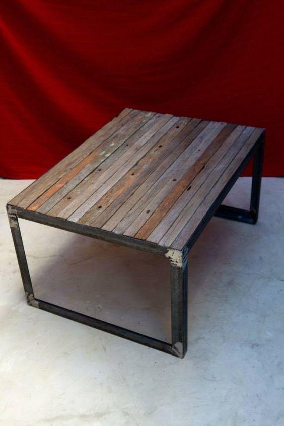 Handcart Coffee Table