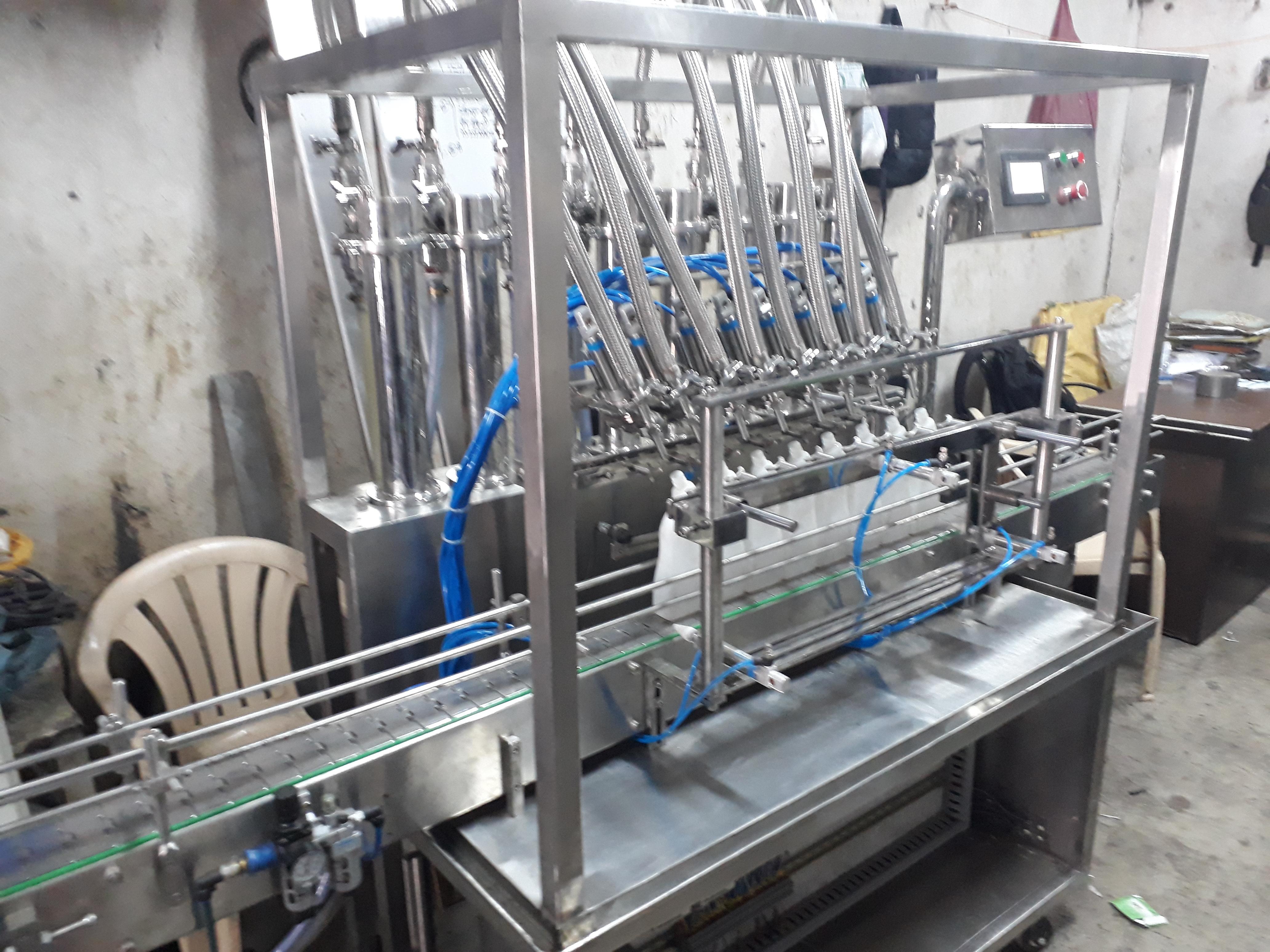 Liquid paste oil filling machine