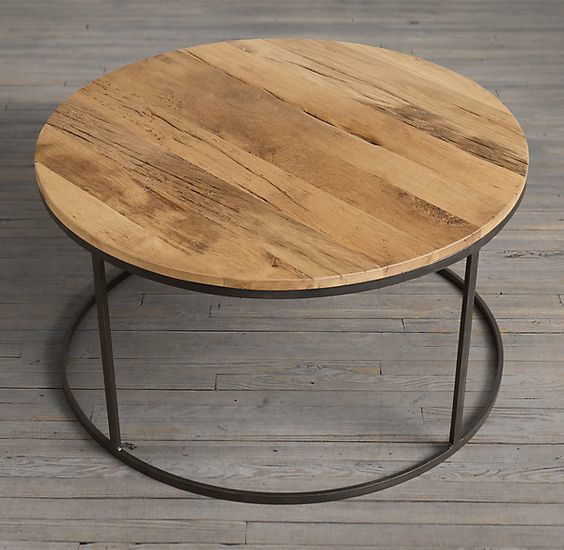 Coffee Table With Reclaim Wood Top