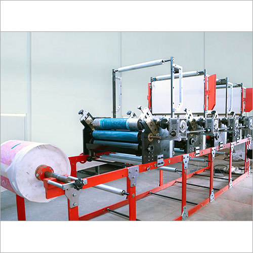 Four Colour Flexo Printing Machine