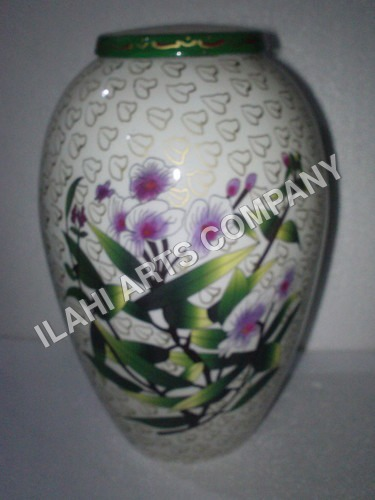 White Simplicity Cloisonne Cremation Urns