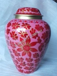 Beautiful Roses Cloisonne Cremation Urns