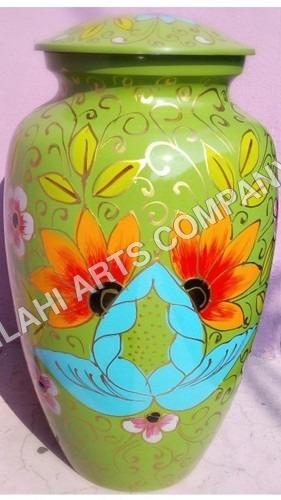 Beautiful Lotus Cloisonne Cremation Urns