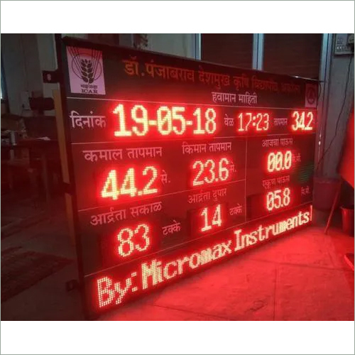 Fixed Display LED Sign Board