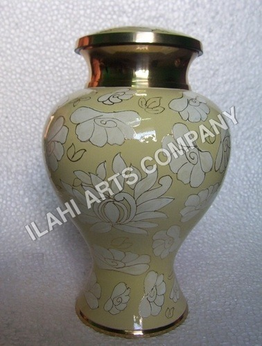 New Design Brass Cloisonne Cremation Urns
