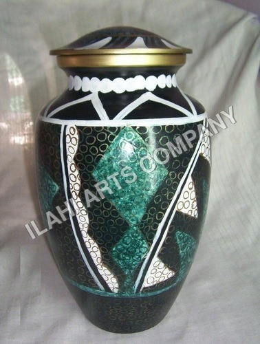 New Design Beautiful Cloisonne Cremation Urns