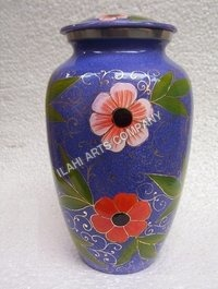 Beautiful Flowers Cloisonne Cremation Urns